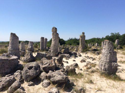 Аладжа монастырь — Побитые камни