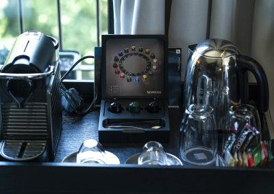 Coffee machine suites