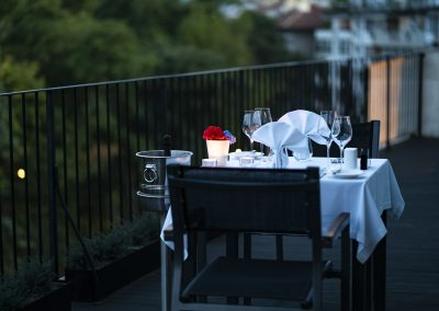 Dinner terrace Large Suite 5